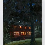 "My Father's House, 8"" x 6"", oil on panel, 2010"